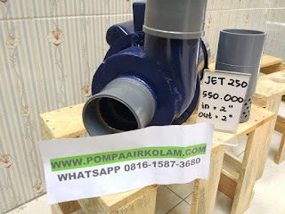 Pompa Air Modifikasi 2 Dim jet 250 Untuk Kolam dan Irigasi