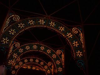 Lights of Winter Epcot Future World Disney World