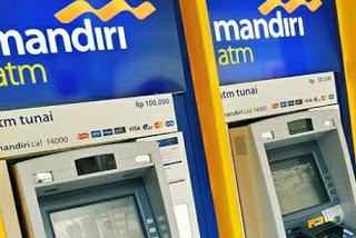 Cara Tarik Tunai / Mengambil Uang Lewat Mandiri ATM