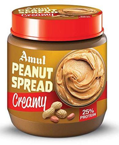 Amul Peanut Spread Creamy 300gm, Pack of 3
