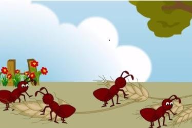 Fabel Semut dan Belalang oleh kak Rasyid