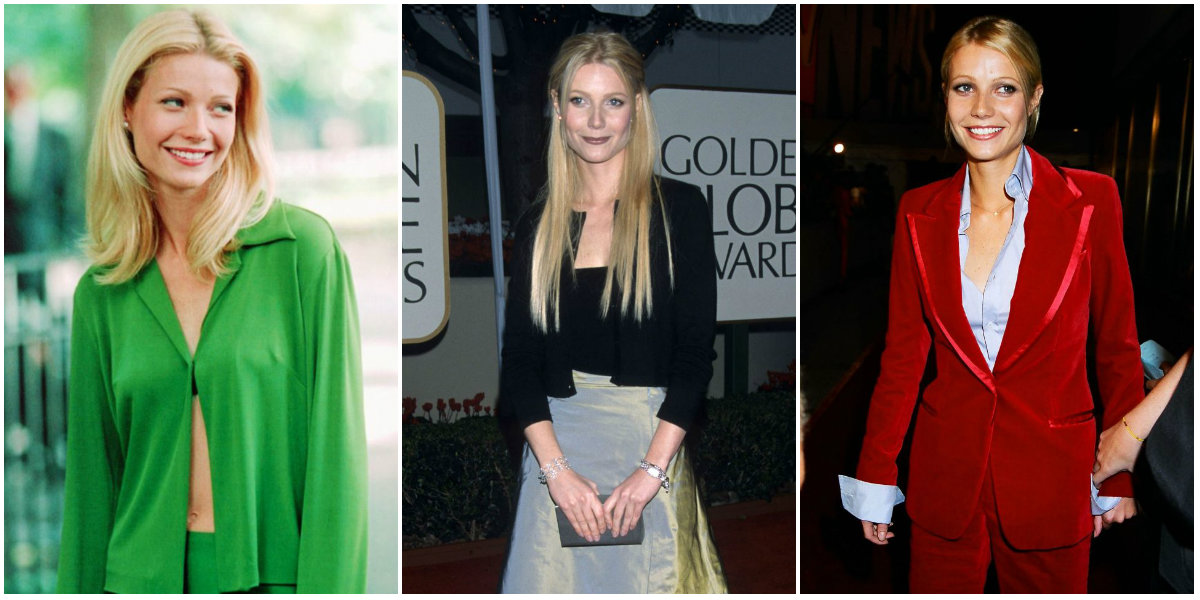 22 Nostalgic Photographs That Show Gwyneth Paltrow's Style of the 1990s