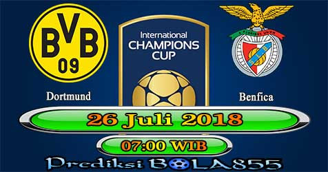 Prediksi Bola855 Dortmund vs Benfica 26 Juli 2018