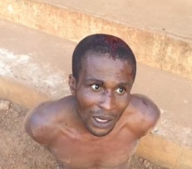 Notorious armed robber caught trying to rape a married woman