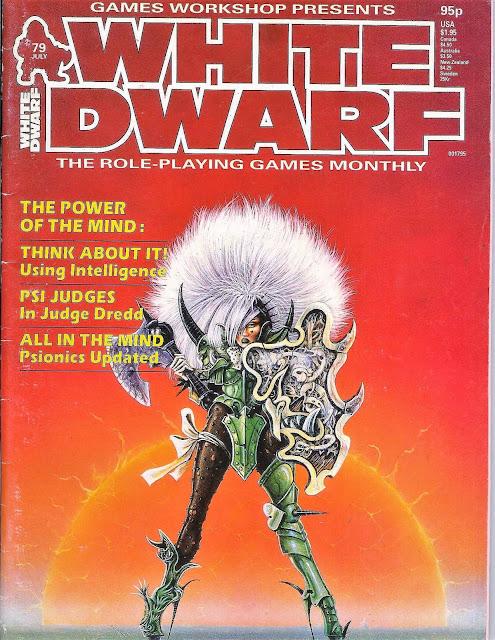 White Dwarf 79 edición inglesa julio 1986