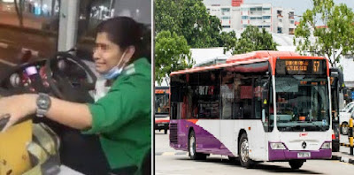 Sopir Bus Wanita Ini Tiba-tiba Menangis,Ini Yang Terjadi