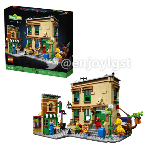 レゴ(LEGO) レゴアイデア セサミストリート 21324
