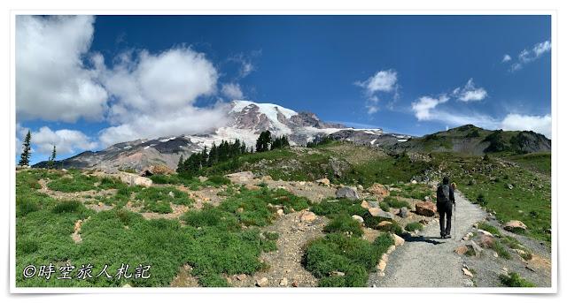 Mt Rainier skyline trail