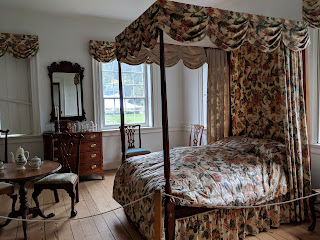 Colonial-era bedroom