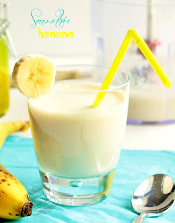 """Résultat de recherche d'images pour """"smoothie a la banane avec lait"""""""