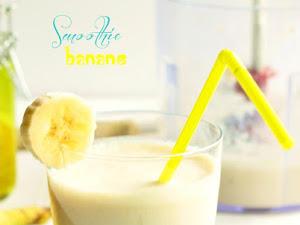 Smoothie banane {recette facile}