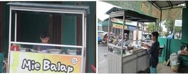 Penjual Mie Balap