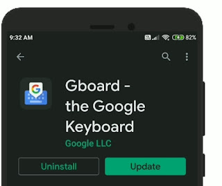 Gboard has stopped