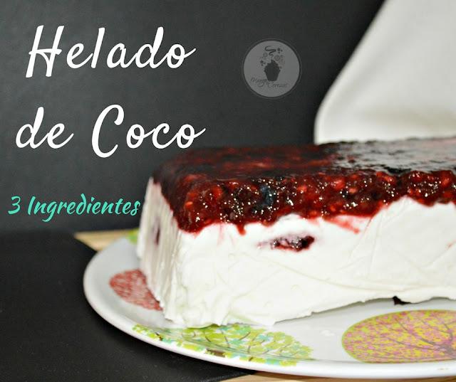 Helado de Coco casero