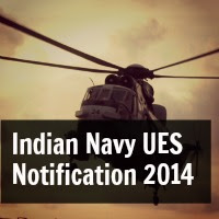 Indian Navy UES University Entry Scheme June 2014 Notification