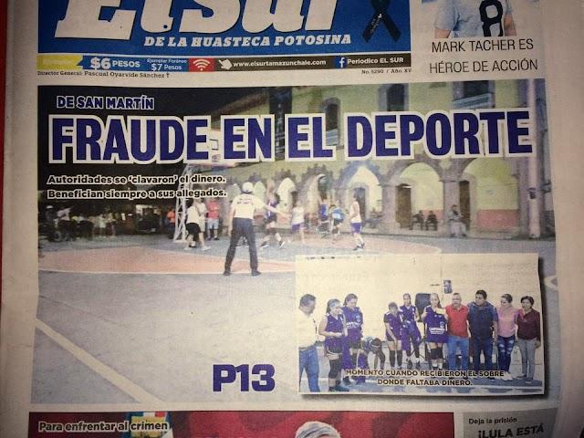 Huasteca Potosina: Pequeño fraude de autoridades