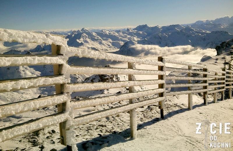 gory, alpy, narty, zima, zycie od kuchni