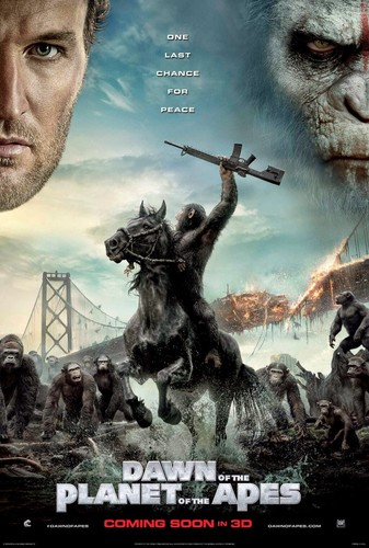 El amanecer del planeta de los simios (2014) [BRrip 1080p] [Latino – Ingles]