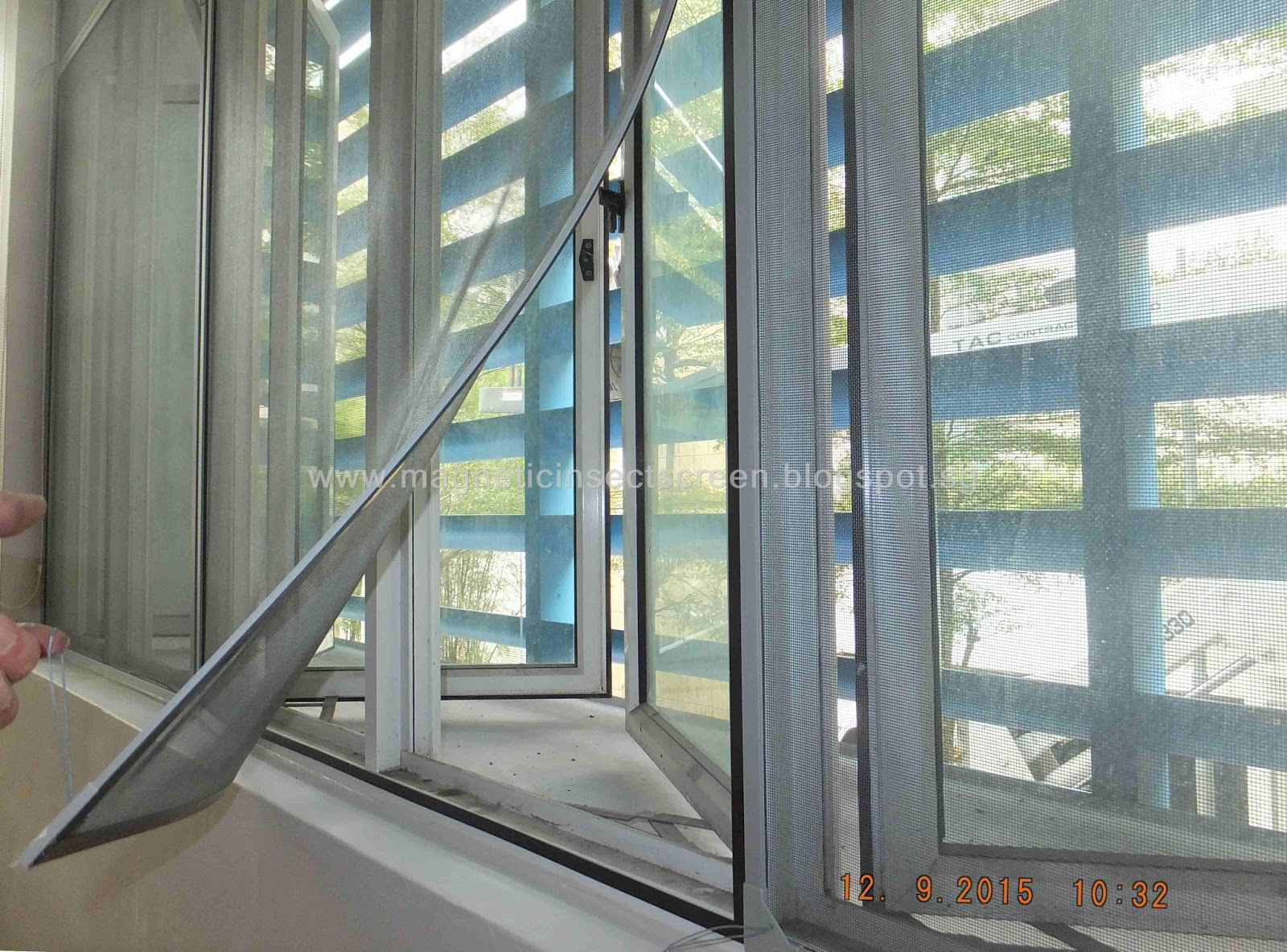 Diy Mosquito Net For Windows Diy Magnetic Insect Screen Singapore Installation At