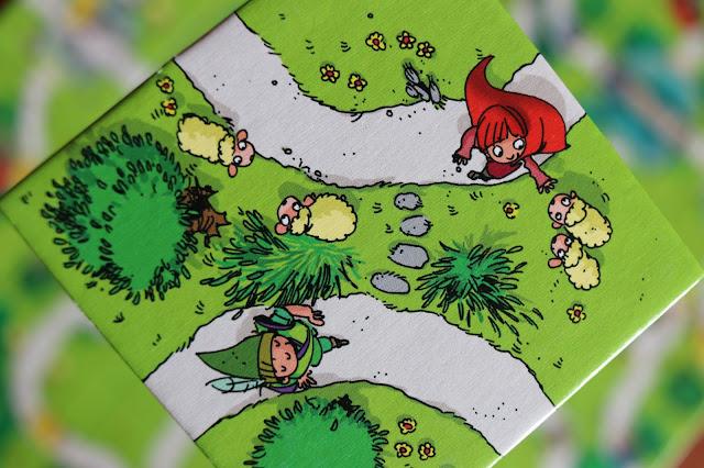 kartička z hry Děti z Carcassonne