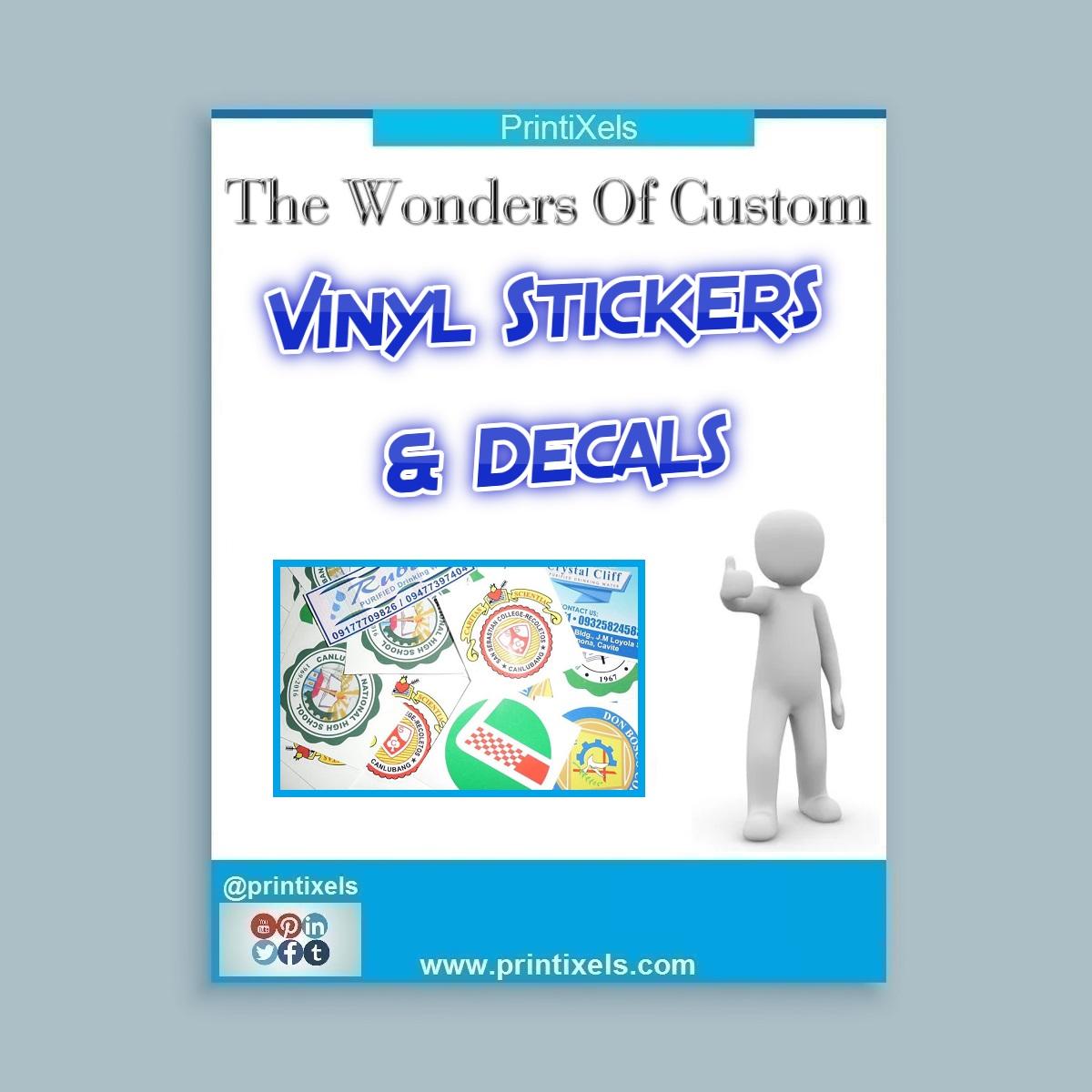 The Wonders Of Custom Vinyl Stickers & Decals