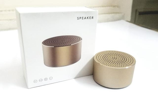 Menikmati Musik Makin Asik dengan Wireless Speaker Miniso