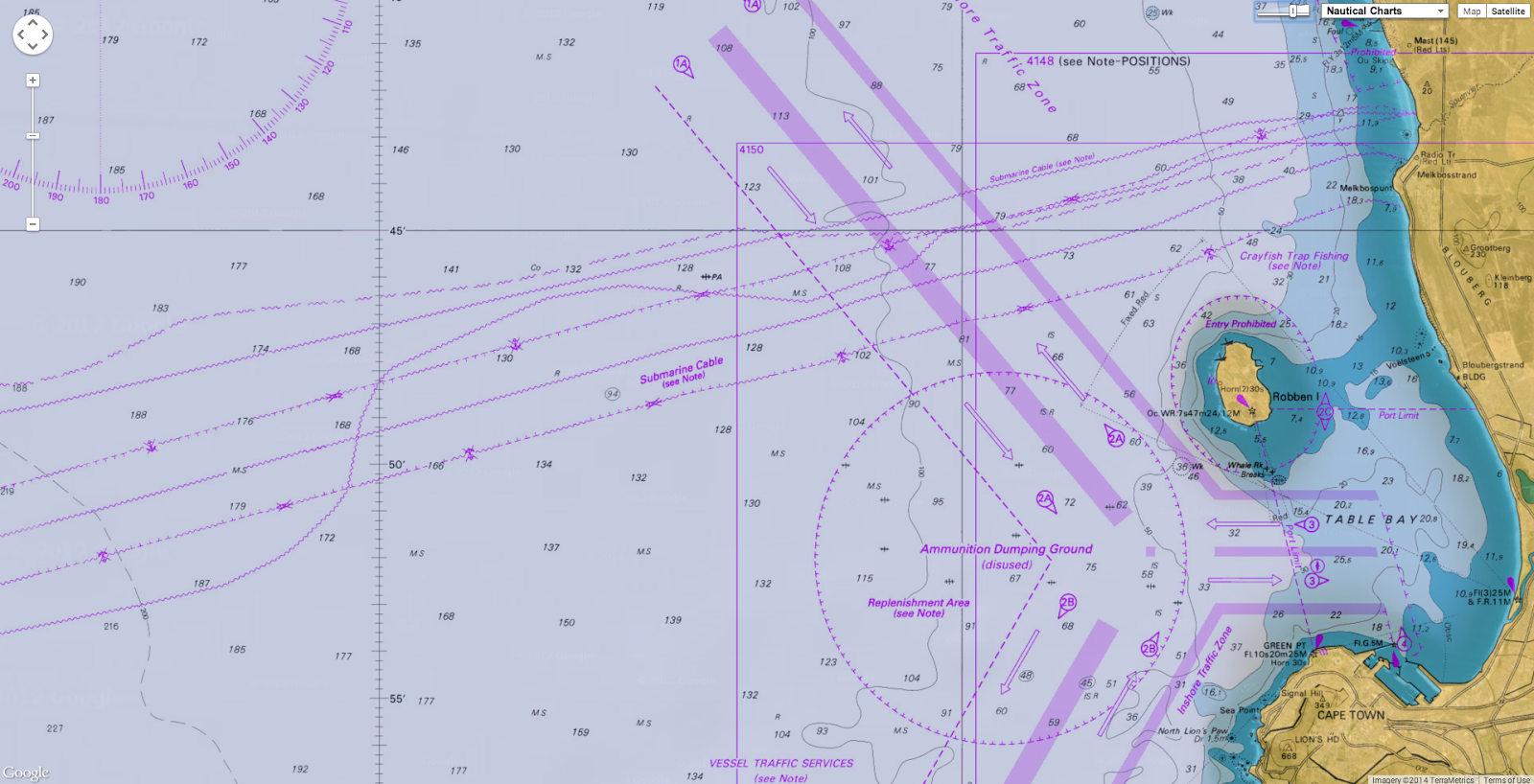 GeoGarage blog: Nautical maps no safeguard against subsea