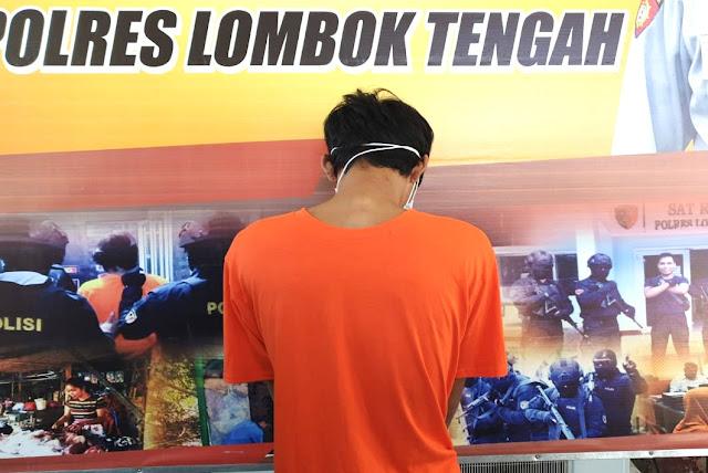 Pencuri toko Alfamart Lombok Tengah ini harus lebaran di Sel