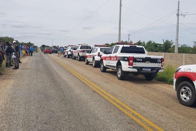 Polícia interrompe 'rolezinho' de motos e notifica mais de 10 condutores no Sertão da Paraíba
