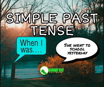 SIMPLE PAST (I DID)