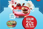 Alfamart Promo Walls Diskon 20% Extra Creamy Untuk Item Es Krim Pilihan