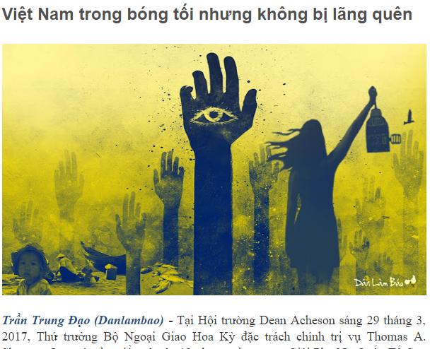 Việt Nam không trong bóng tối và cũng không bao giờ bị lãng quên