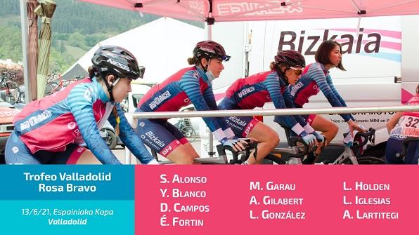El equipo Bizkaia - Durango competirá hoy en la Copa de España de Valladolid