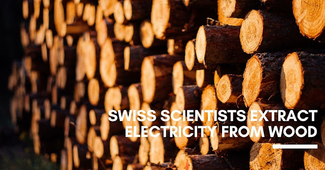 Swiss scientists extract electricity from wood
