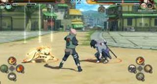 download game ppsspp naruto  ultimate ninja impact ukuran kecil