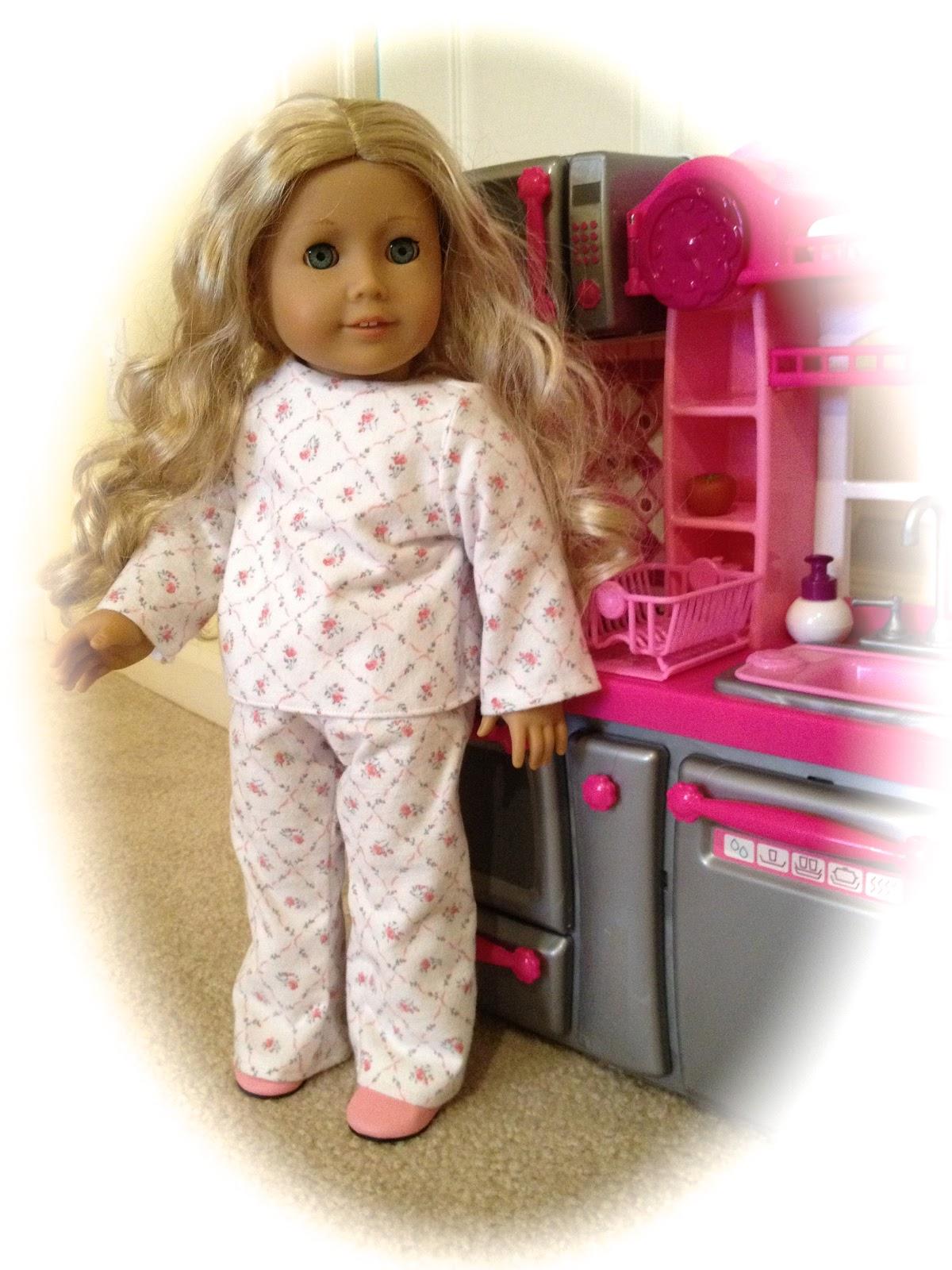 Atwp American Girl Doll Pj S Pattern