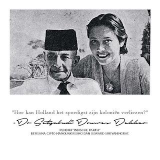 Danudirja Setiabudi dan Istrinya