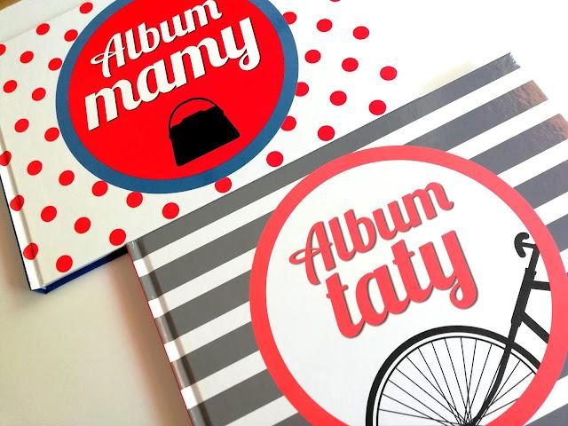 Album mamy, Album taty | Pamiątkowe albumy dla rodziców.