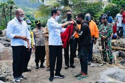 Jokowi Kunjungi Lembata Guna Pastikan Kebutuhan para Pengungsi Bencana Tercukupi