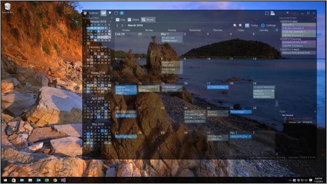 أفضل, برنامج, تقويم, سطح, المكتب, لجدولة, المواعيد, والمهام, على, الكمبيوتر, VueMinder ,Calendar ,Lite
