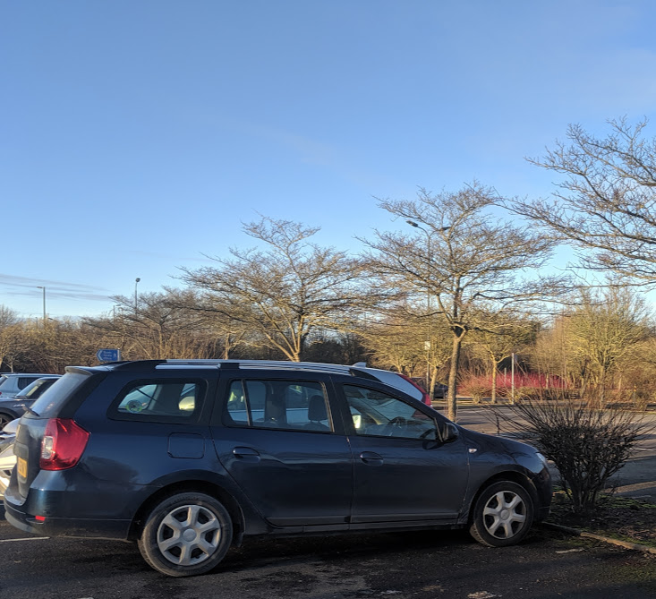Image -  Parked up in York Park & Ride Car Park