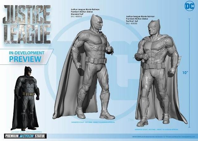 Batman tiene nuevo traje táctico en Justice League