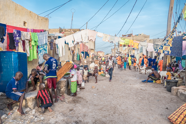 Fishermen Site Saint Louis, Senegal
