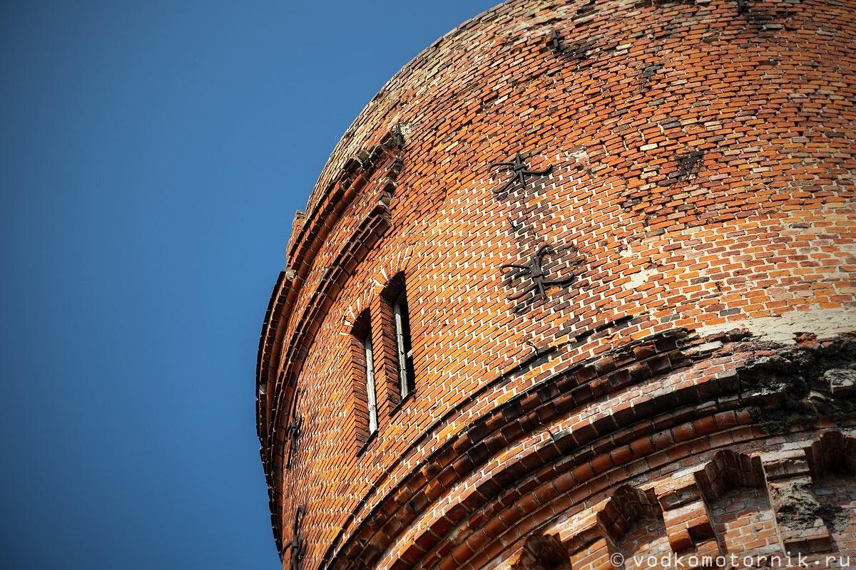 Водонапорная башня в Мамоново
