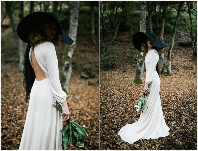 novia vestido alicia rueda boda blog pamela sombrero