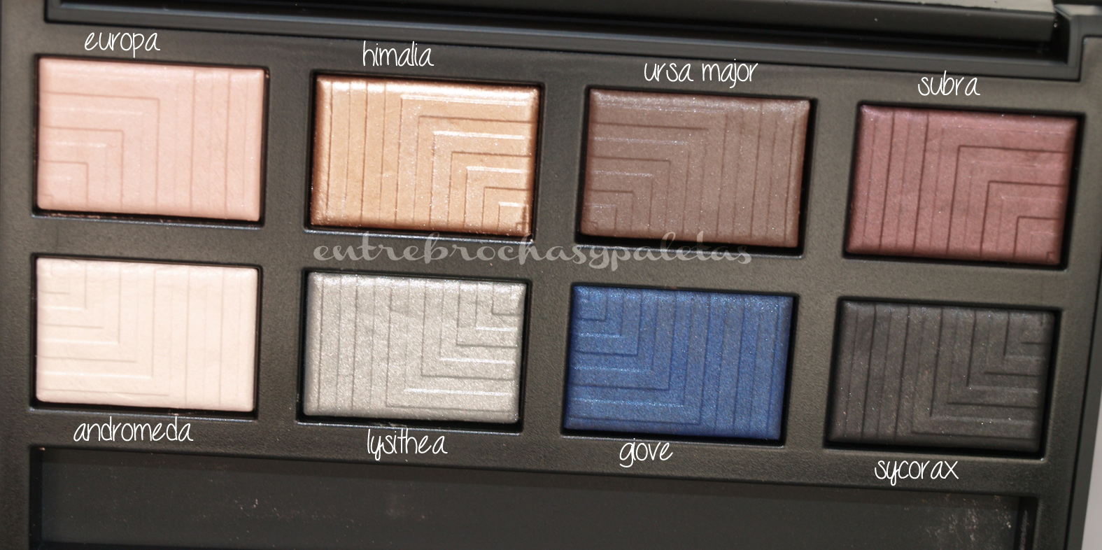 Dual intensity eyeshadow palette Nars