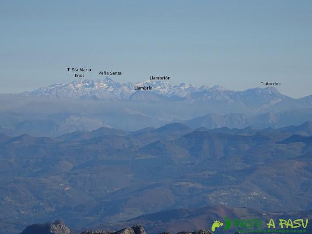 Picos de Europa desde La Mostayal