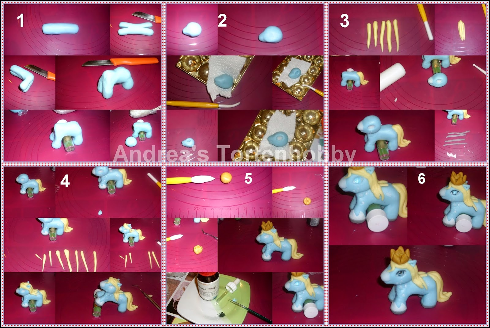 andrea s tortenhobby filly fondant tutorial anleitung. Black Bedroom Furniture Sets. Home Design Ideas