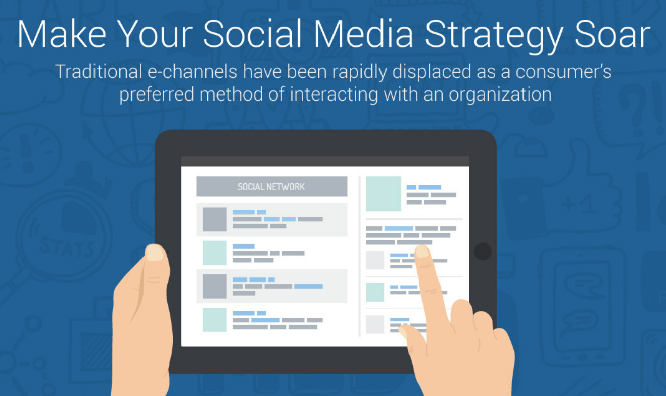 Make Your Social Media Strategy Soar - infographic