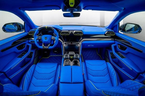 Interior Mansory Lamborghini Urus